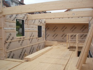 Construction en panneaux CLT Plicroisé®